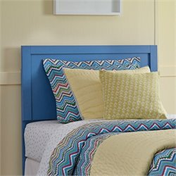 Bronilly Wood Panel Headboard in Blue
