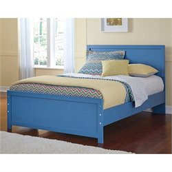 Ashley Bronilly Wood Panel Bed in Blue