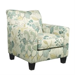 Ashley Daystar Fabric Accent Chair in Seafoam