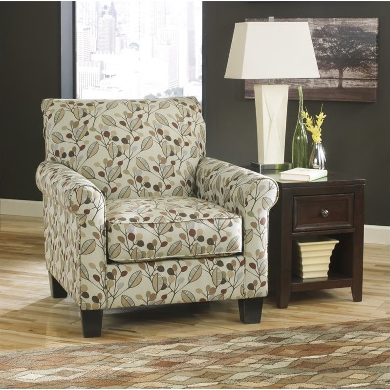 Ashley Danely Fabric Accent Chair in Dusk