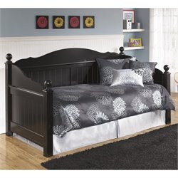 Jaidyn Wood Daybed in Black