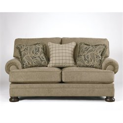 Ashley Keereel Fabric Loveseat in Sand