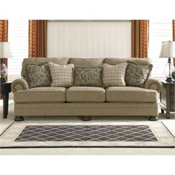 Ashley Keereel Fabric Sofa in Sand