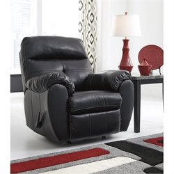 Bastrop Leather Rocker Recliner