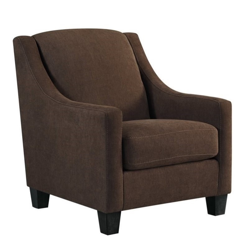 Ashley Maier Fabric Accent Chair In Walnut 4520121