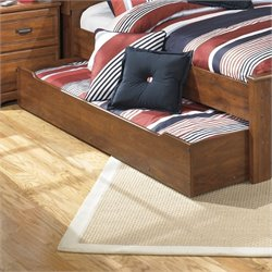 Ashley Barchan Wood Trundle in Brown