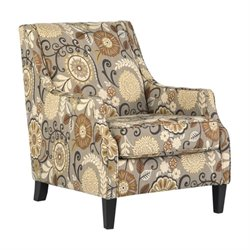 Ashley Tailya Fabric Accent Chair in Espresso