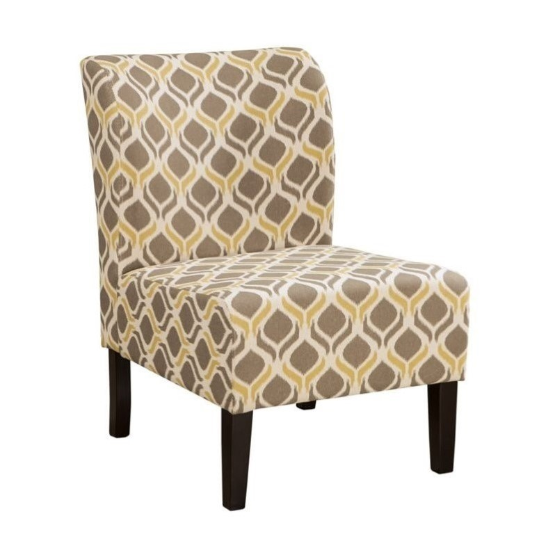 Ashley Honnally Fabric Accent Chair in Gunmetal