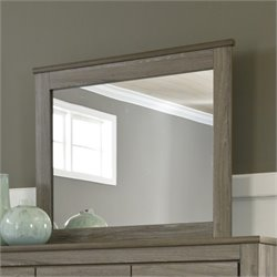 Ashley Zelen Bedroom Mirror in Brown