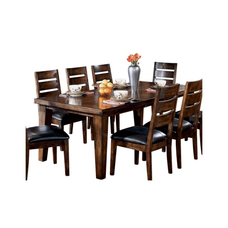 dining dining tables ashley larchmont wood extendable dining room