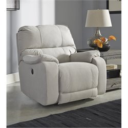 Bohannon Fabric Power Rocker Recliner
