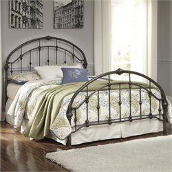 Nashburg Metal Bed in Bronze