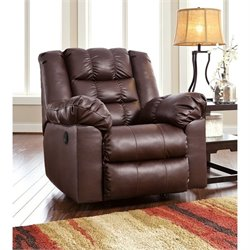 Brolayne Leather Rocker Recliner