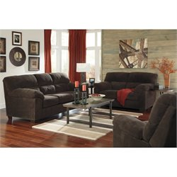 Zorah 3 Piece Fabric Sofa Set