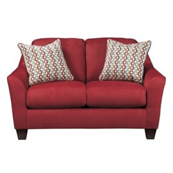 Hannin Fabric Loveseat