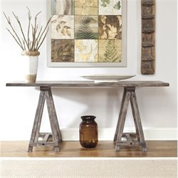 Ashley Vennilux Console Table in Light Brown