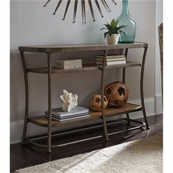 Ashley Nartina Console Table in Light Brown