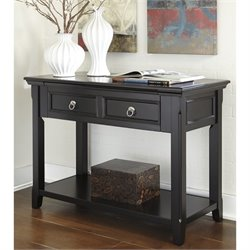 Ashley Greensburg Console Table in Black