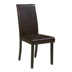 Kimonte Faux Leather Dining Side Chair