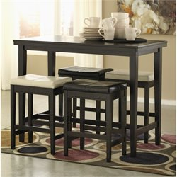 Kimonte 5 Piece Counter Height Dining Set
