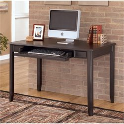 Ashley Carlyle Home Office Small Desk in Almost Black