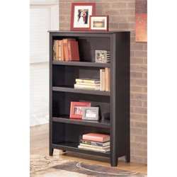 Ashley Carlyle Bookcase in Almost Black