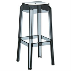 Compamia Fox Polycarbonate Bar Stool (Set of 2)