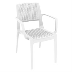 Compamia Capri Resin Dining Arm Chair (Set of 2)