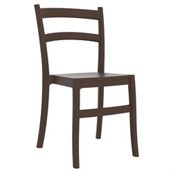 Compamia Tiffany Dining Chair in Brown (Set of 2)