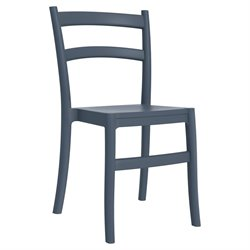 Compamia Tiffany Dining Chair in Dark Gray (Set of 2)