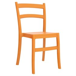 Compamia Tiffany Dining Chair in Orange (Set of 2)