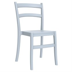 Compamia Tiffany Dining Chair in Silver Gray (Set of 2)