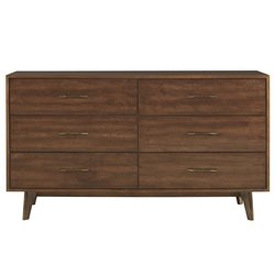 Universal Furniture Curated Newbury 6 Drawer Dresser in Townhouse