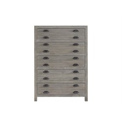 Universal Furniture Curated Gilmore 5 Drawer Chest in Graystone