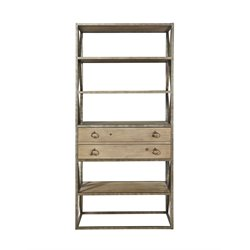 Universal Furniture Authenticity Etagere in Khaki