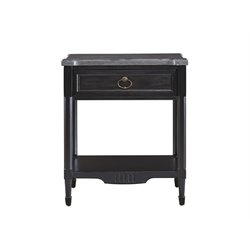 Universal Furniture Authenticity Nightstand in Black Denim