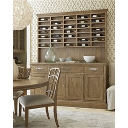 Universal Furniture Moderne Muse Sideboard with Sommelier's Hutch in Bisque