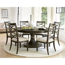 Universal Furniture California Round Table in Hollywood Hills