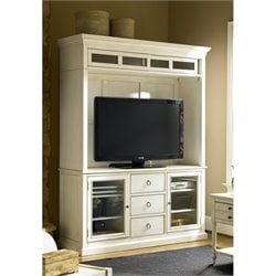 Universal Furniture Summer Hill Entertainment Console with Deck in Cotton