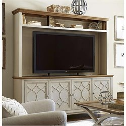 Universal Furniture Moderne Muse Entertainment Console with Deck in Multi