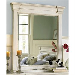 Universal Furniture Summer Hill Mirror in Cotton