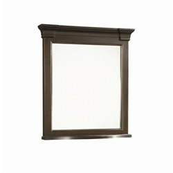 Universal Furniture Summer Hill Mirror in Midnight