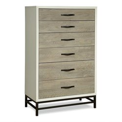 Universal Furniture The Spencer Bedroom Chest in Gray Parchment