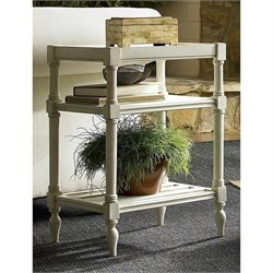 Universal Furniture Summer Hill Chair Side Table in Cotton