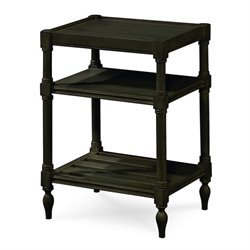 Universal Furniture Summer Hill Chair Side Table in Midnight