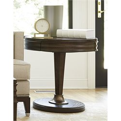Universal Furniture California Round End Table in Hollywood Hills