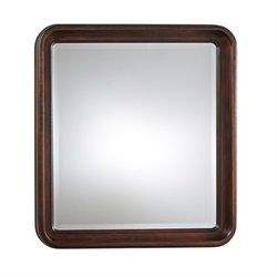 Universal Furniture Reprise Landscape Mirror in Rustic Cherry