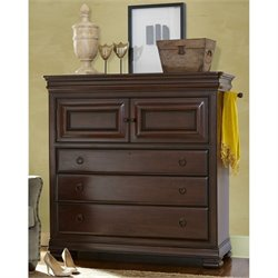 Universal Furniture Reprise Dressing Accent Chest in Rustic Cherry