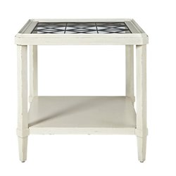 Universal Furniture Sojourn End Table in Summer White