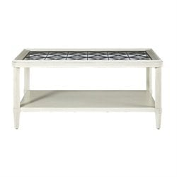 Universal Furniture Sojourn Coffee Table in Summer White
